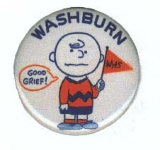 Charlie Brown Button